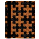 PUZZLE1 BLACK MARBLE & RUSTED METAL Apple iPad 3/4 Flip Case View3