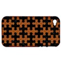 PUZZLE1 BLACK MARBLE & RUSTED METAL Apple iPhone 4/4S Hardshell Case (PC+Silicone) View1