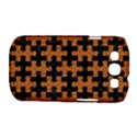 PUZZLE1 BLACK MARBLE & RUSTED METAL Samsung Galaxy S III Classic Hardshell Case (PC+Silicone) View1