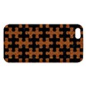 PUZZLE1 BLACK MARBLE & RUSTED METAL Apple iPhone 5 Premium Hardshell Case View1