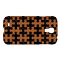 PUZZLE1 BLACK MARBLE & RUSTED METAL Samsung Galaxy S4 I9500/I9505 Hardshell Case View1