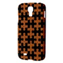 PUZZLE1 BLACK MARBLE & RUSTED METAL Samsung Galaxy S4 I9500/I9505 Hardshell Case View3