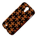 PUZZLE1 BLACK MARBLE & RUSTED METAL Samsung Galaxy S4 I9500/I9505 Hardshell Case View4