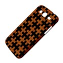 PUZZLE1 BLACK MARBLE & RUSTED METAL Samsung Galaxy Mega 5.8 I9152 Hardshell Case  View4