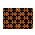PUZZLE1 BLACK MARBLE & RUSTED METAL Samsung Galaxy Tab 2 (10.1 ) P5100 Hardshell Case  View1