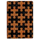 PUZZLE1 BLACK MARBLE & RUSTED METAL iPad Mini 2 Flip Cases View1