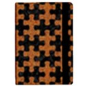 PUZZLE1 BLACK MARBLE & RUSTED METAL iPad Mini 2 Flip Cases View2