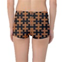 PUZZLE1 BLACK MARBLE & RUSTED METAL Reversible Boyleg Bikini Bottoms View2