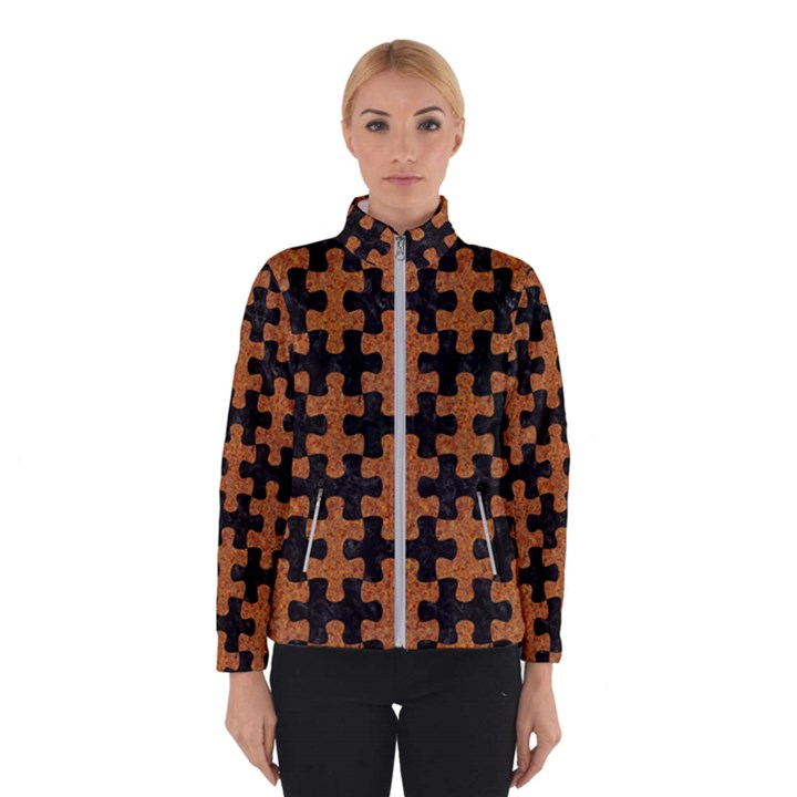 PUZZLE1 BLACK MARBLE & RUSTED METAL Winterwear
