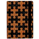 PUZZLE1 BLACK MARBLE & RUSTED METAL Apple iPad Pro 10.5   Flip Case View2