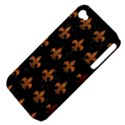 ROYAL1 BLACK MARBLE & RUSTED METAL Apple iPhone 4/4S Hardshell Case (PC+Silicone) View4