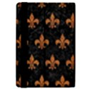 ROYAL1 BLACK MARBLE & RUSTED METAL iPad Mini 2 Flip Cases View4