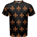 ROYAL1 BLACK MARBLE & RUSTED METAL Men s Cotton Tee View1