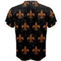 ROYAL1 BLACK MARBLE & RUSTED METAL Men s Cotton Tee View2