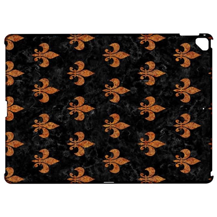 ROYAL1 BLACK MARBLE & RUSTED METAL Apple iPad Pro 12.9   Hardshell Case