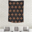 ROYAL1 BLACK MARBLE & RUSTED METAL Small Tapestry View2