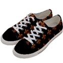 ROYAL1 BLACK MARBLE & RUSTED METAL Women s Low Top Canvas Sneakers View2