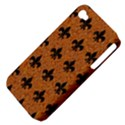 ROYAL1 BLACK MARBLE & RUSTED METAL (R) Apple iPhone 4/4S Hardshell Case (PC+Silicone) View4