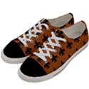 ROYAL1 BLACK MARBLE & RUSTED METAL (R) Women s Low Top Canvas Sneakers View2