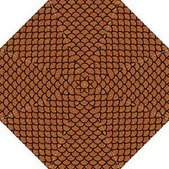 Scales1 Black Marble & Rusted Metal Hook Handle Umbrellas (large)