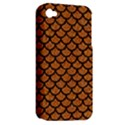 SCALES1 BLACK MARBLE & RUSTED METAL Apple iPhone 4/4S Hardshell Case (PC+Silicone) View2