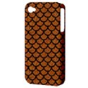 SCALES1 BLACK MARBLE & RUSTED METAL Apple iPhone 4/4S Hardshell Case (PC+Silicone) View3