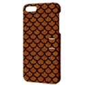 SCALES1 BLACK MARBLE & RUSTED METAL Apple iPhone 5 Hardshell Case with Stand View3