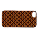 SCALES1 BLACK MARBLE & RUSTED METAL Apple iPhone 5S/ SE Hardshell Case View1