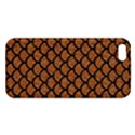 SCALES1 BLACK MARBLE & RUSTED METAL iPhone 5S/ SE Premium Hardshell Case View1