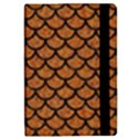 SCALES1 BLACK MARBLE & RUSTED METAL iPad Mini 2 Flip Cases View2