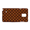 SCALES1 BLACK MARBLE & RUSTED METAL Samsung Galaxy Note 4 Hardshell Case View1