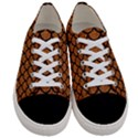 SCALES1 BLACK MARBLE & RUSTED METAL Women s Low Top Canvas Sneakers View1