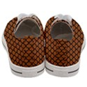 SCALES1 BLACK MARBLE & RUSTED METAL Women s Low Top Canvas Sneakers View4