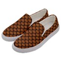SCALES1 BLACK MARBLE & RUSTED METAL Men s Canvas Slip Ons View2