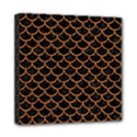 SCALES1 BLACK MARBLE & RUSTED METAL (R) Mini Canvas 8  x 8  View1