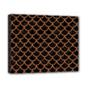 SCALES1 BLACK MARBLE & RUSTED METAL (R) Canvas 10  x 8  View1