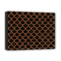 SCALES1 BLACK MARBLE & RUSTED METAL (R) Deluxe Canvas 16  x 12   View1