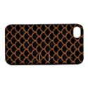 SCALES1 BLACK MARBLE & RUSTED METAL (R) Apple iPhone 4/4S Hardshell Case with Stand View1
