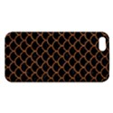 SCALES1 BLACK MARBLE & RUSTED METAL (R) Apple iPhone 5 Premium Hardshell Case View1