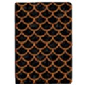 SCALES1 BLACK MARBLE & RUSTED METAL (R) iPad Mini 2 Flip Cases View1