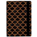 SCALES1 BLACK MARBLE & RUSTED METAL (R) iPad Mini 2 Flip Cases View2