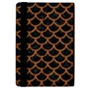 SCALES1 BLACK MARBLE & RUSTED METAL (R) iPad Mini 2 Flip Cases View4