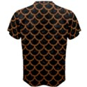 SCALES1 BLACK MARBLE & RUSTED METAL (R) Men s Cotton Tee View2
