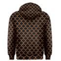 SCALES1 BLACK MARBLE & RUSTED METAL (R) Men s Pullover Hoodie View2
