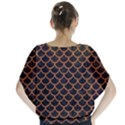 SCALES1 BLACK MARBLE & RUSTED METAL (R) Blouse View2
