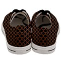 SCALES1 BLACK MARBLE & RUSTED METAL (R) Men s Low Top Canvas Sneakers View4