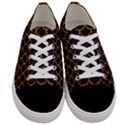 SCALES1 BLACK MARBLE & RUSTED METAL (R) Women s Low Top Canvas Sneakers View1