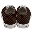 SCALES1 BLACK MARBLE & RUSTED METAL (R) Women s Low Top Canvas Sneakers View4