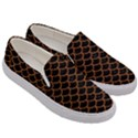 SCALES1 BLACK MARBLE & RUSTED METAL (R) Men s Canvas Slip Ons View3