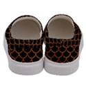 SCALES1 BLACK MARBLE & RUSTED METAL (R) Men s Canvas Slip Ons View4
